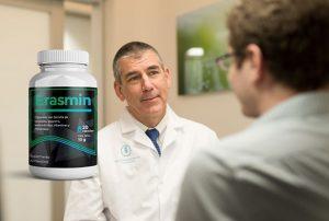 Erasmin cápsulas, ingredientes, cómo tomarlo, como funciona, efectos secundarios
